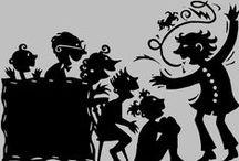 A arte de contar histórias (tempo/lugar) / Uma história ilustrada desta tradição narrativa que ganha contornos diversos nos lugares que passa