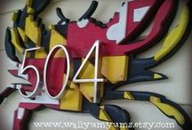 Crabs, Bohs and O's / Design and decor ideas that are quintessential Maryland!