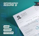 Infographic Resumes / CV Templates / In a competitive job market it's tempting to want to make yourself stand out. And since we are such a visually driven culture, it's not surprising that job seekers are considering turning their resumes into infographics.The infographic resume is also a great way to show your creativity, design sensibility, and personality! Visit and follow this board to get the best infographic resume templates.