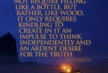 """Inspirational Quotes & Thoughts / """"Think on these things..."""""""