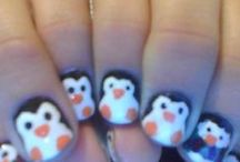 Nail art done by me :) / My nails, my nail polish, my stress reliever, my hobby :) / by Megan Cheney