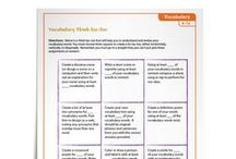 Vocabulary Activities by Vocab Gal / Vocabulary Activities for Grades 1–12 | Make vocabulary instruction fun for students with my downloadable activities | www.vocabgal.com | Sponsored by Sadlier School