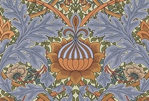 William Morris / William Morris (1834-1896), English designer, craftsman, and social visionary, profoundly influenced the decorative arts in the 19th century. Allied with the Pre-Raphaelite school of painting and inspired by an idealized vision of the artists of the Middle Ages, his original designs redefined the standards of Victorian taste. Morris joined another brilliant designer, Walter Crane, to form the Arts & Crafts Exhibition Society, generally recognized as the beginning of the Arts & Crafts Movement.
