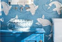 Wallpaper, patterns & fabrics... / by RuthAnne Anderson Hocking