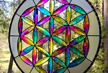 DichroicGlassman Flower of Life / by Dichroic GlassMan