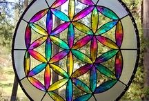 DichroicGlassman Flower of Life / by Dichroic GlassMan