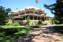 """McDonald Mansion / The McDonald Mansion, originally called """"Mableton,"""" was built in 1879 by Mark L. McDonald, one of Santa Rosa's most prominent early citizens. Mableton was saved from the wrecking ball by Dr. Jack Leissring in 1974, the same year the property was listed in the National Register of Historic Places. In 2005, the mansion was purchased by John and Jennifer Webley. Their vision for the future of Mableton has guided the direction of the project that is currently in progress."""