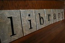 Library Ideas / Ideas for Library, Bulletin Board, and Door Decorations! / by Karen Webb Cook