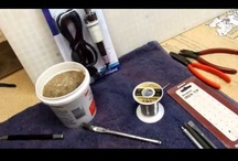 Stained Glass Soldering Videos / by Dichroic GlassMan