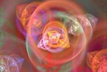 Fractals / Love twisted Light and even in the Fragments / by Dichroic GlassMan
