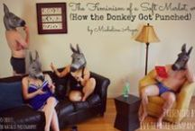 Donkey Punch / A play about intimacy, sexual empowerment and a donkey.  Original Off-BroadwayProduction by Ivy Theater @ Soho Playhouse NYC Summer 2014