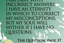 The Question / Quotes from Leigh Bortins' book The Question
