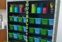 Classroom storage and decor / by Susan Hickey