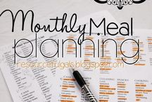 Meal Planning. / by Hannah Webb