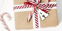 From Brown Paper to Beautiful / Use your scrapbook supplies and turn your simple brown paper into gorgeous gift wrap.