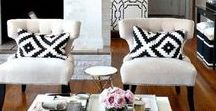HOW TO DECORATE LIKE A DESIGNER / Tips for creating a space that looks like it was professionally designed.