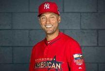 Derek Sanderson Jeter / Yankee obsession hehehe / by Debbie Cavillo
