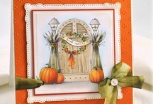 Autumn Leaves / inspiration for Thanksgiving and Autumn Cards