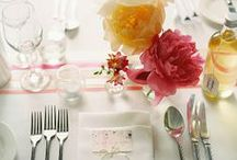 Place Settings & Table Decor