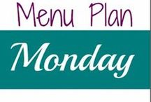 Menu Plan Monday / Need help planning a weekly dinner menu? Look no further! Menu Plan Monday is a popular weekly blogging theme designed to give you inspiration and a place to share your weekly dinner menus! Save time and money by planning ahead. / by Chrissy {The Taylor House}