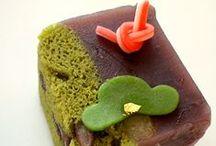 mochi, manju, wagashi & other Japanese sweets / Edible Japanese art!  / by P Baker