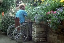 Accessible Gardens / Garden designs for those with disabilities
