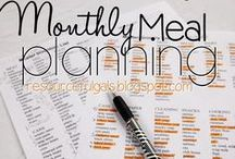 Meal Planning / Resources and helpful information for meal planning.  / by Chrissy {The Taylor House}
