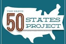 50 States Project / The Paste 50 States Project is a series that highlights the best up-and-coming bands from each U.S. state. / by Paste Magazine