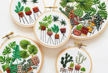 EMBROIDERY broderie / crochet / cross stitch... / Embroidery, broderie, crochet, cross stitch...