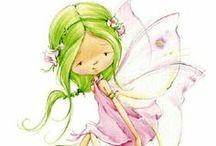 Fairies / angels, fairies / by Sandy Hearn
