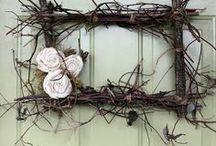 craft : wreaths and door decor / by erin laturner