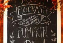 Autumn & Halloween ideas / by Kimberly Herron