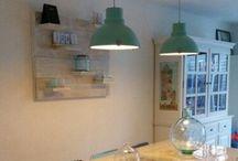 Woonkamer  / Nieuwe meubels, accessoires en behang voor de woonkamer