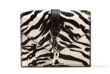Zebra Mania / The black and white zebra print is the one to follow this season. From clothes to accessories we love this graphic trend! #SaintLaurent #Balmain #Leetha #Zebra #blackandwhite #print #animal