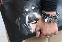 The Rottweiler Power / It's time we put some bite back in our wardrobe with this Givenchy Rottweiler collection! #Givenchy #Rottweiler #tote #clutch