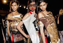 MODERN TRIBAL / From Africa to Latin America, designers are influenced by folk cultures with a twist!  #Givenchy #Alaia #McQueen #Valentino #LynnBan #EliseDray