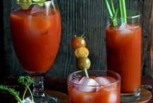 Bloody Mary Recipes / Looking for the Best Bloody Mary Recipe - or Ultimate - or Easy?  | Then check out this board for ideas for your next homemade Bloody Mary bar | See all our recipes at https://theseasidebaker.com/
