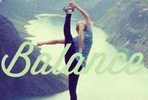 Yoga Balance / #yoga #body #balance #workout #namaste