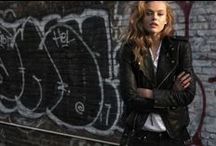 The ultimate perfecto / Biker, sleeveless, metallic or cropped, nothing says rock'n'roll like a timeless leather jacket.  #perfecto #leatherjacket #saintlaurent #blkdnm #alexandermcqueen #rock