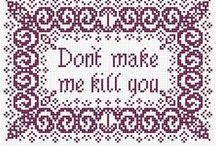 craft : cross stitch and embroidery : patterns / by erin laturner