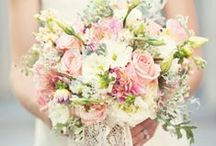 Bryllup - blomster / Blomster dekorationer Brudebuket