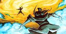 Avatar Aang / Korra