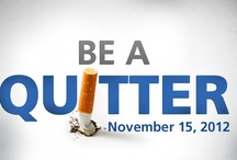 Be A Quitter / You're better than tobacco. Share your best anti-smoking pins! Help create a world with less cancer and more birthdays by taking part in the fight against tobacco on November 15. www.cancer.org/smokeout. Happy Pinning! / by Ashley McIntyre