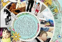Scrapbooking: Digital Stuff / Goodies To Learn Or Enhance Your Digital Scrapbooking Techniques And Pages