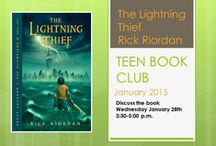 ~Teen Book Club~ /   / by Rochester Public Library District
