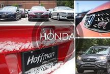Honda / Images of Honda vehicles. Visit Hoffman Honda online at http://hoffmanhonda.com/
