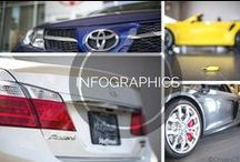Car Infographics / Fun and informative infographics for car fans.