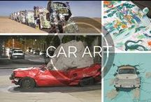 Auto Art / A collection of vehicle-related art.