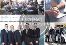 Hoffman Auto Group Annoucements / Here is a board where you can find special announcements regarding the Hoffman Auto Group.