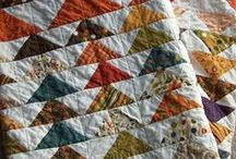 Little pieces - great work / I love quilting and this board is all about inspiring quilts / by Val Rocha